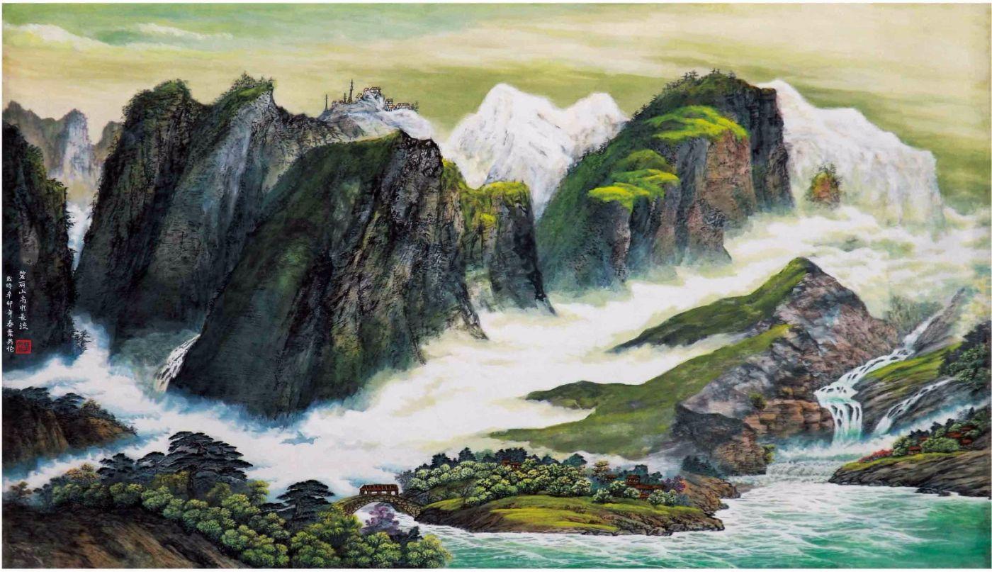 国际著名书画家叶英伦_图1-88
