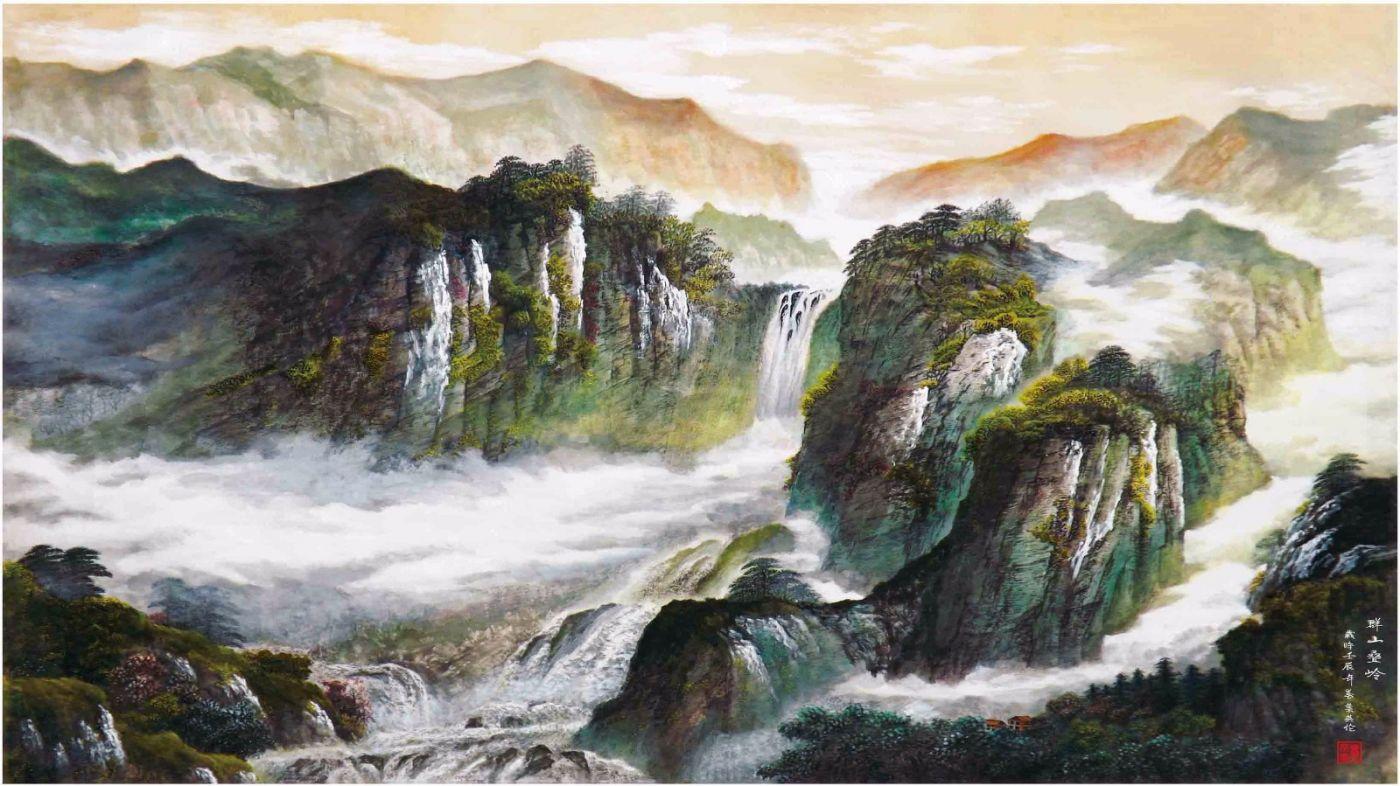 国际著名书画家叶英伦_图1-89