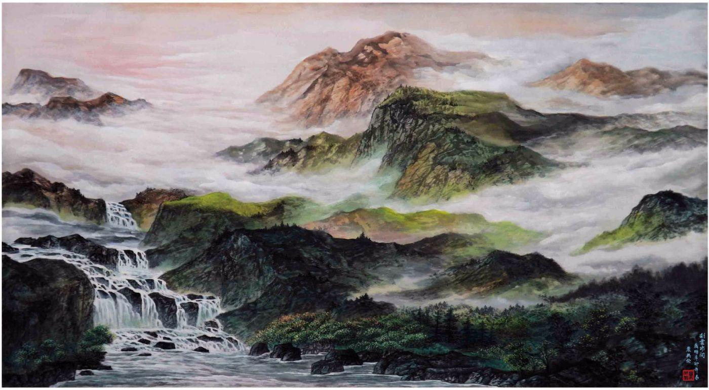 国际著名书画家叶英伦_图1-90