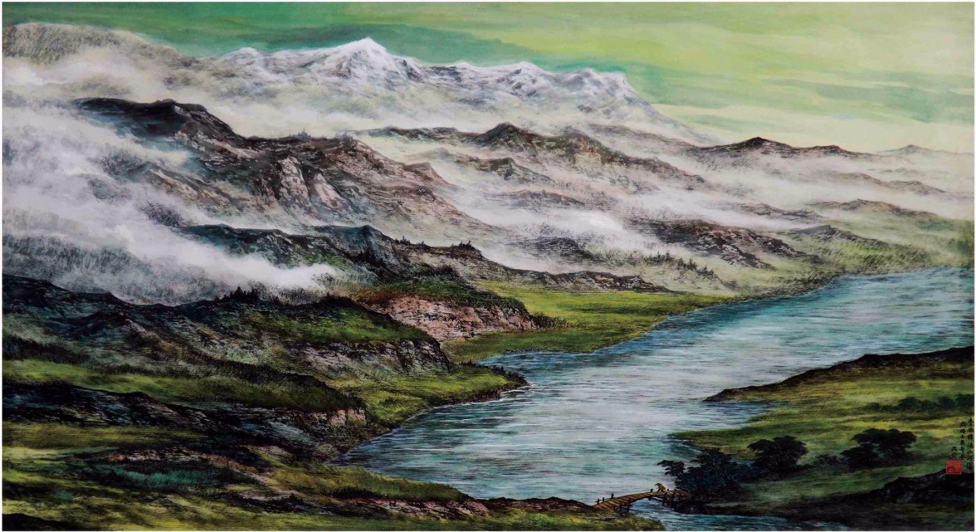 国际著名书画家叶英伦_图1-91