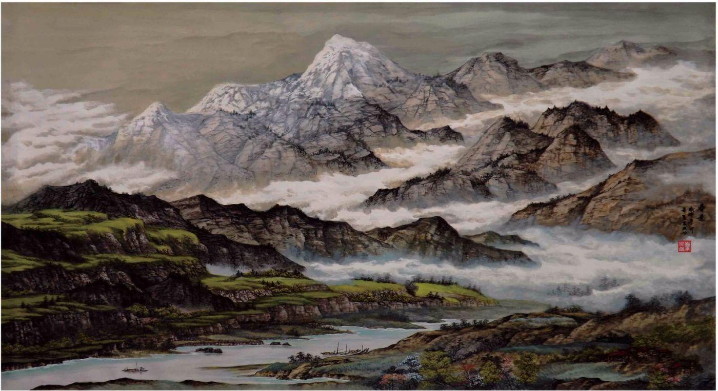 国际著名书画家叶英伦_图1-92