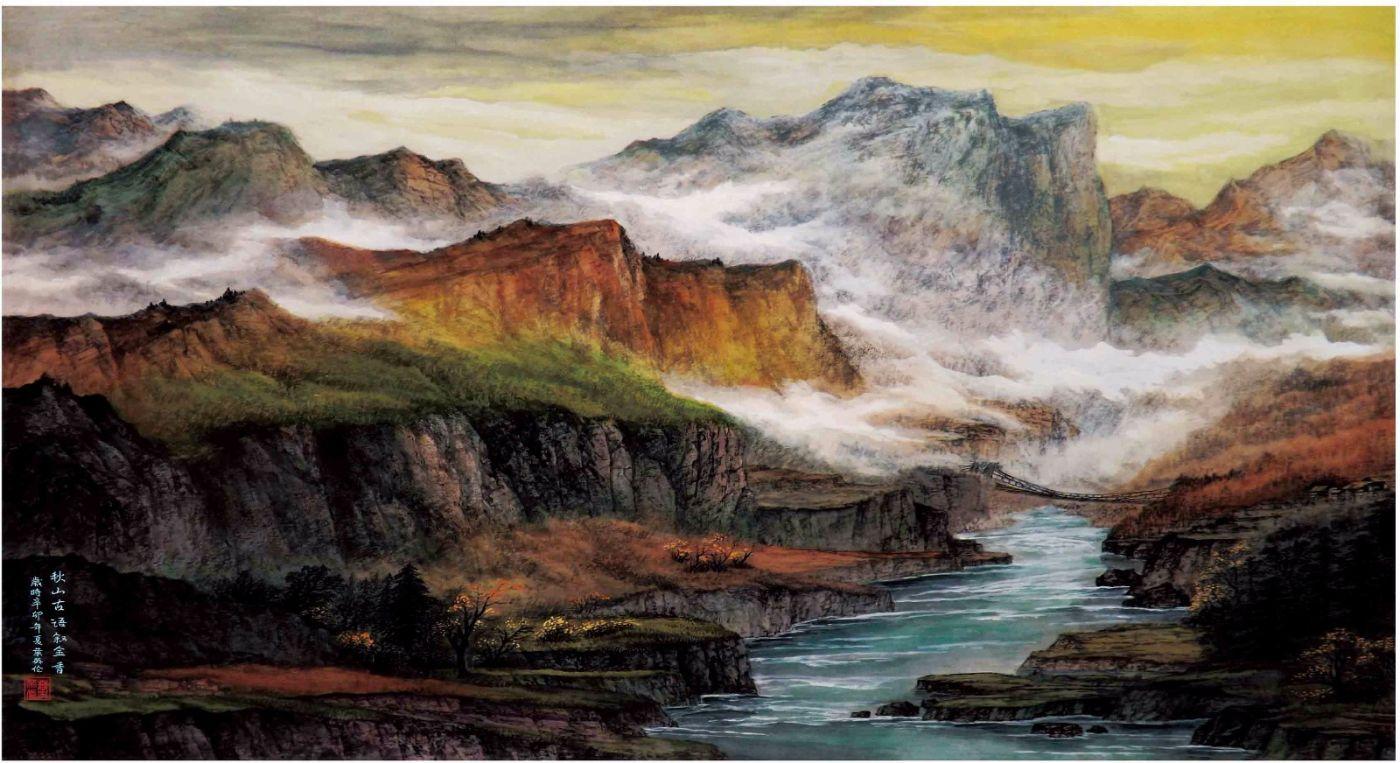 国际著名书画家叶英伦_图1-95