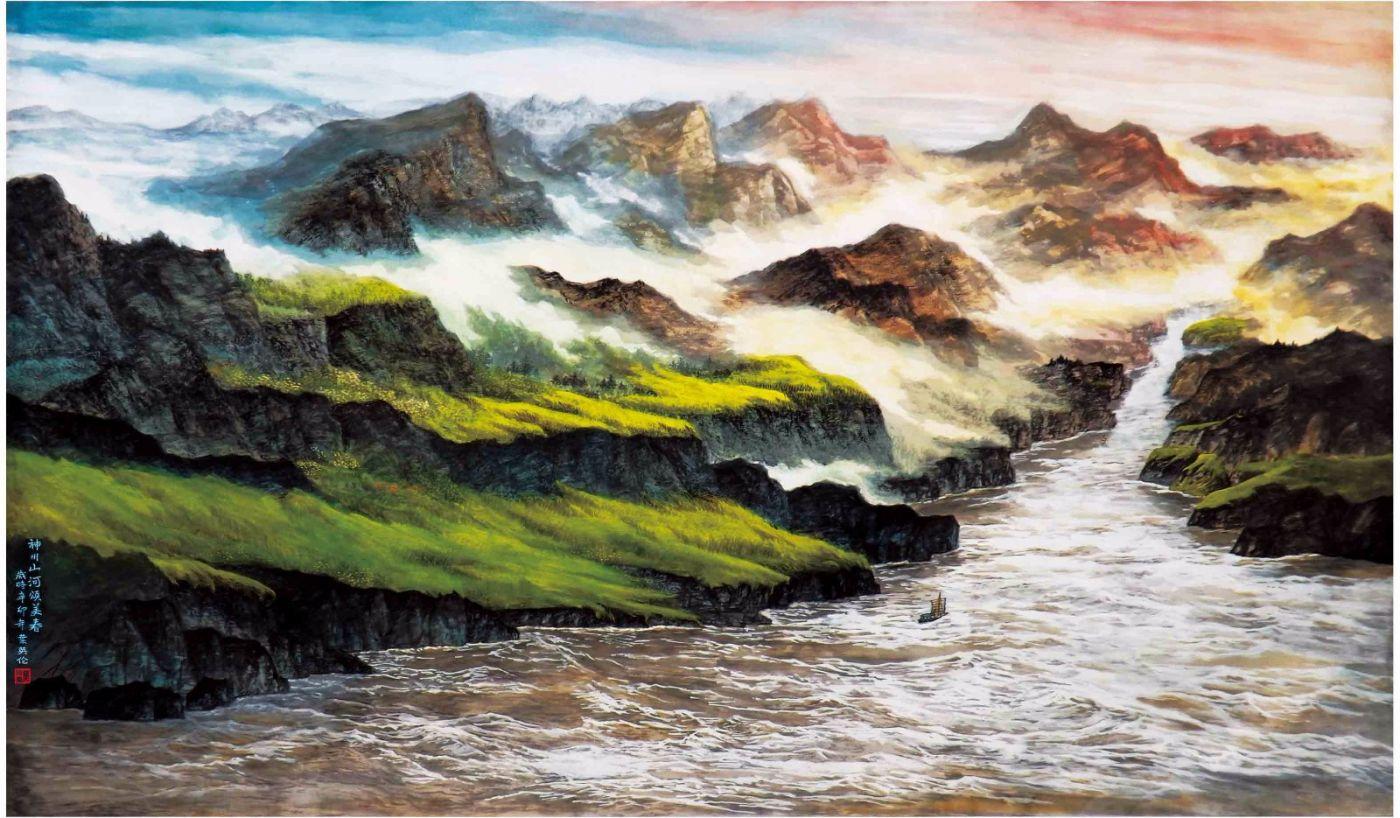国际著名书画家叶英伦_图1-96