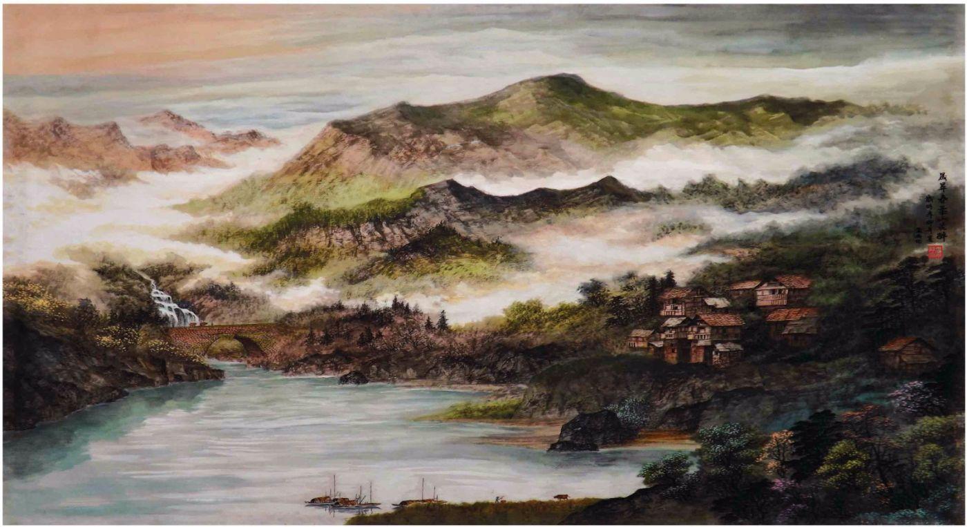 国际著名书画家叶英伦_图1-97