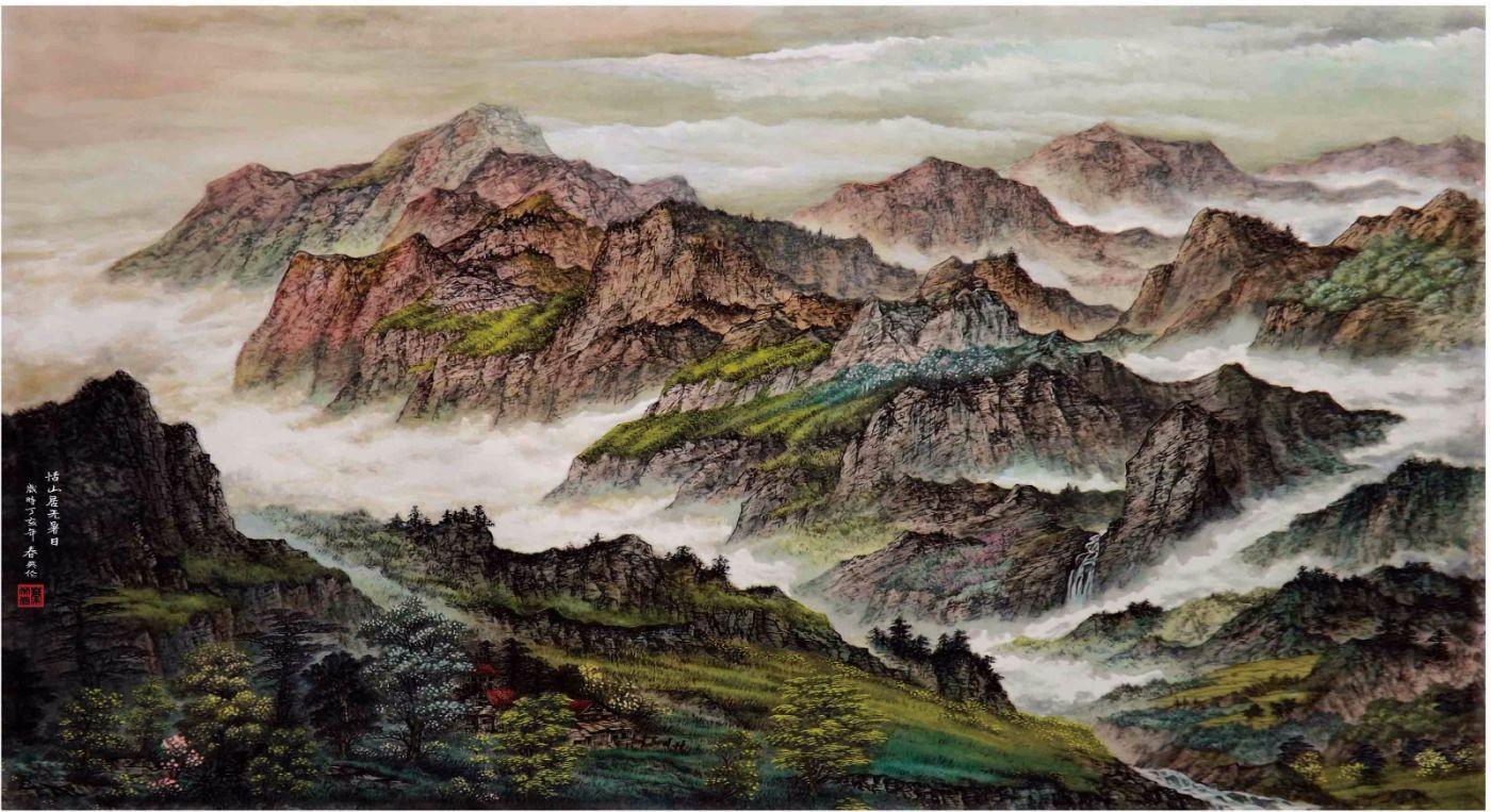 国际著名书画家叶英伦_图1-98