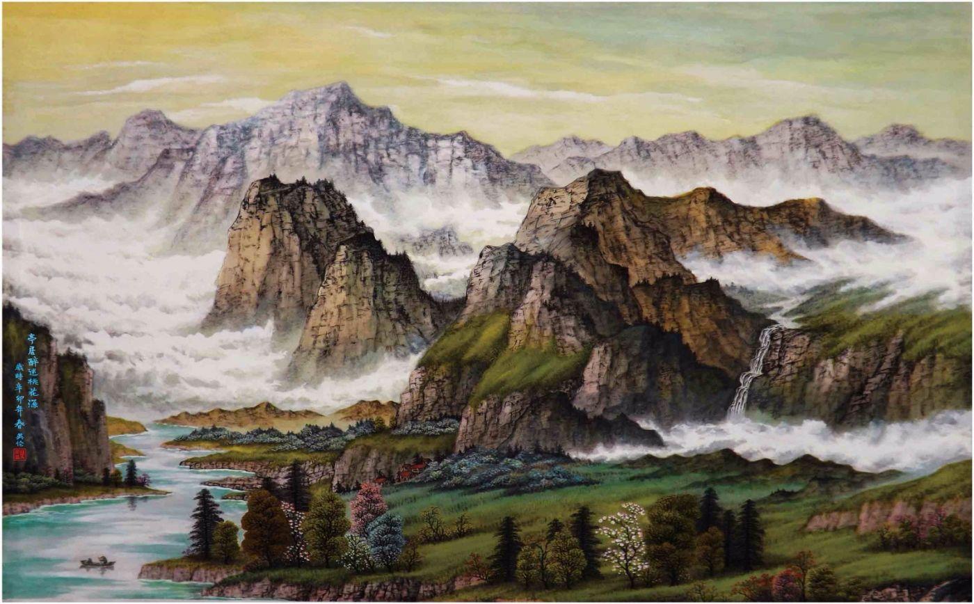 国际著名书画家叶英伦_图1-99