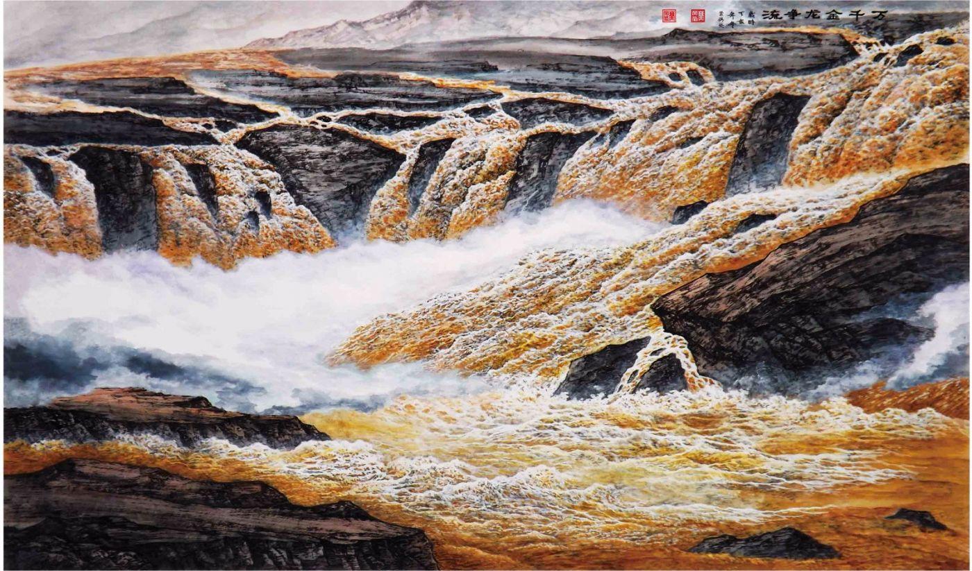 国际著名书画家叶英伦_图1-100