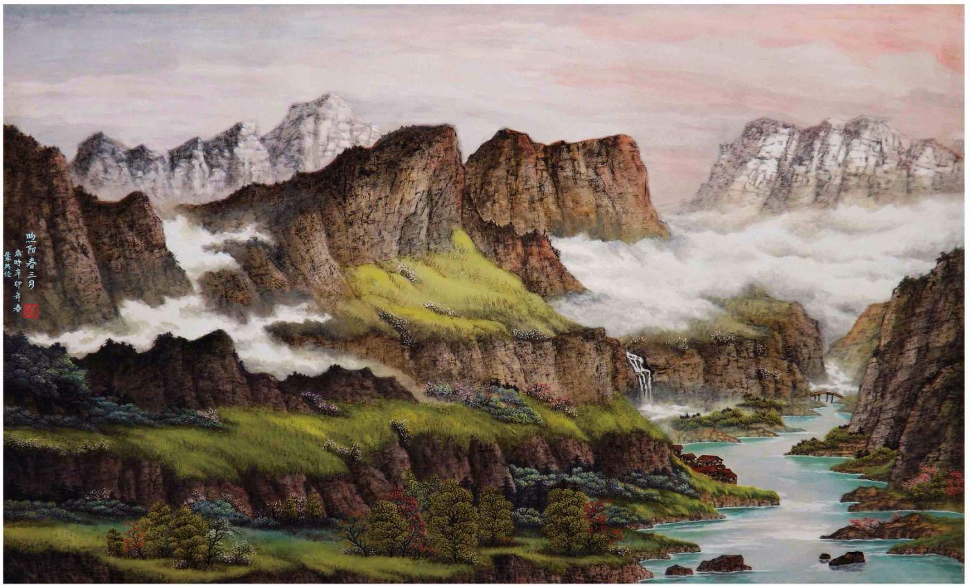 国际著名书画家叶英伦_图1-101
