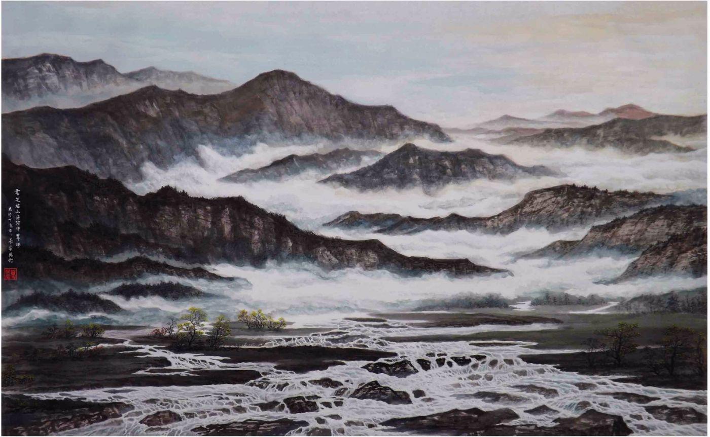 国际著名书画家叶英伦_图1-103