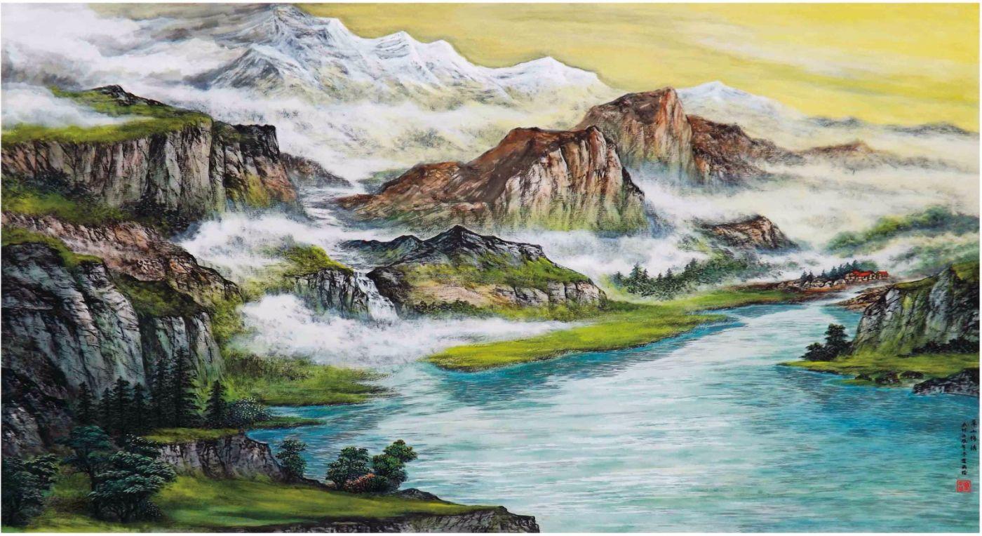 国际著名书画家叶英伦_图1-104