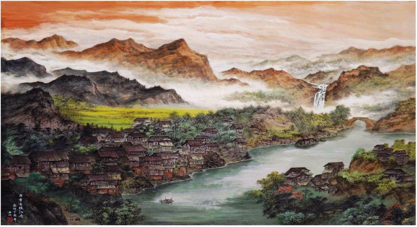 国际著名书画家叶英伦_图1-105
