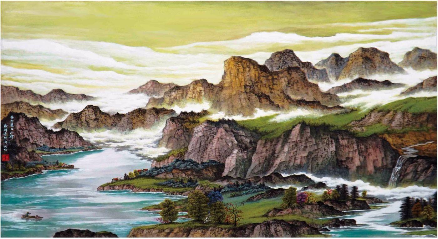 国际著名书画家叶英伦_图1-107