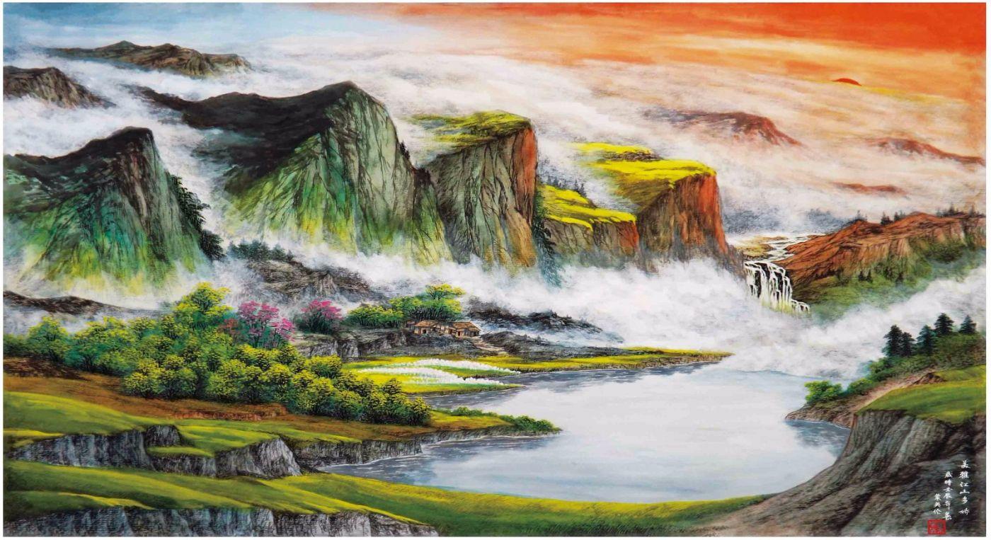 国际著名书画家叶英伦_图1-108
