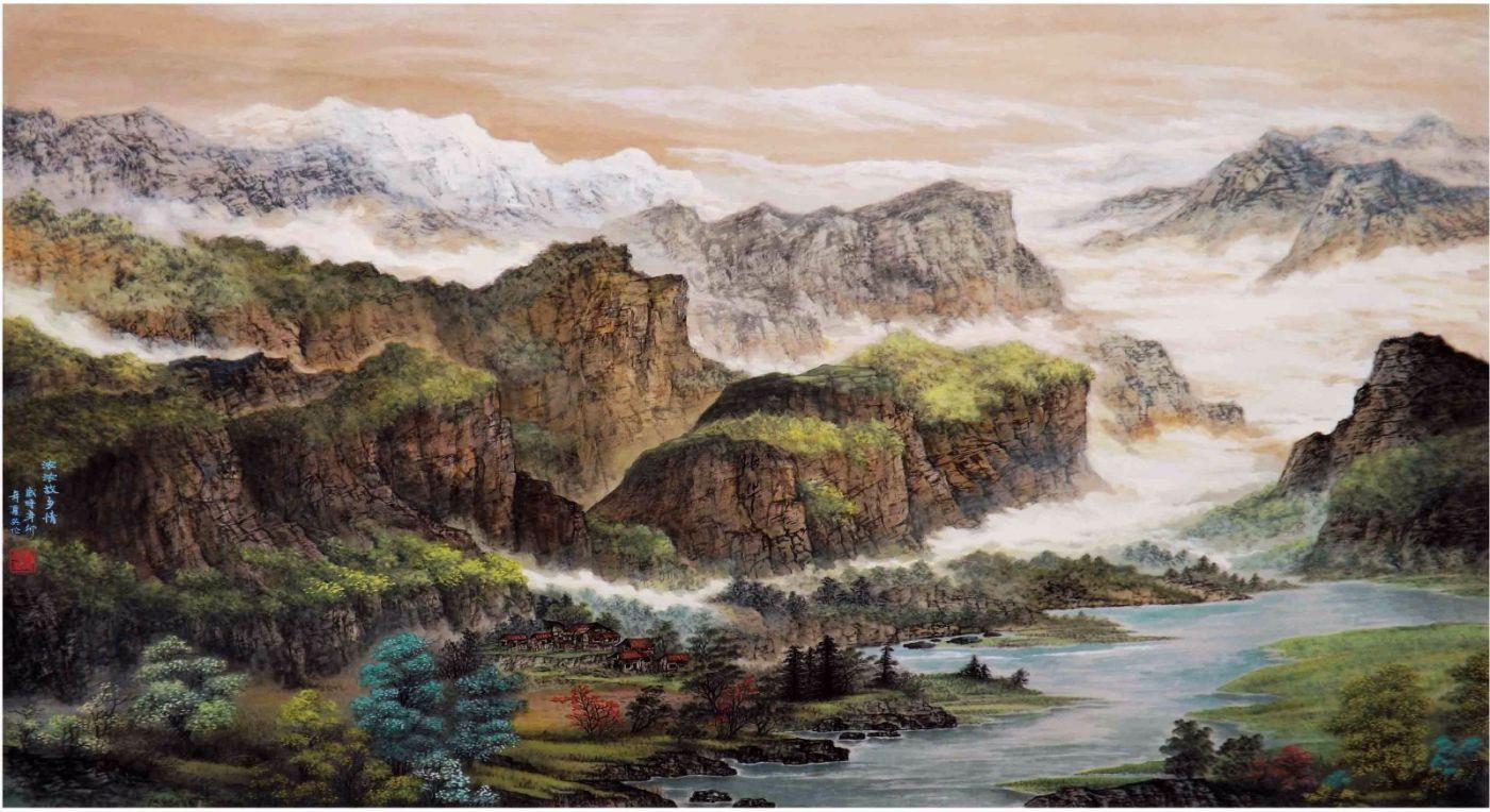 国际著名书画家叶英伦_图1-109