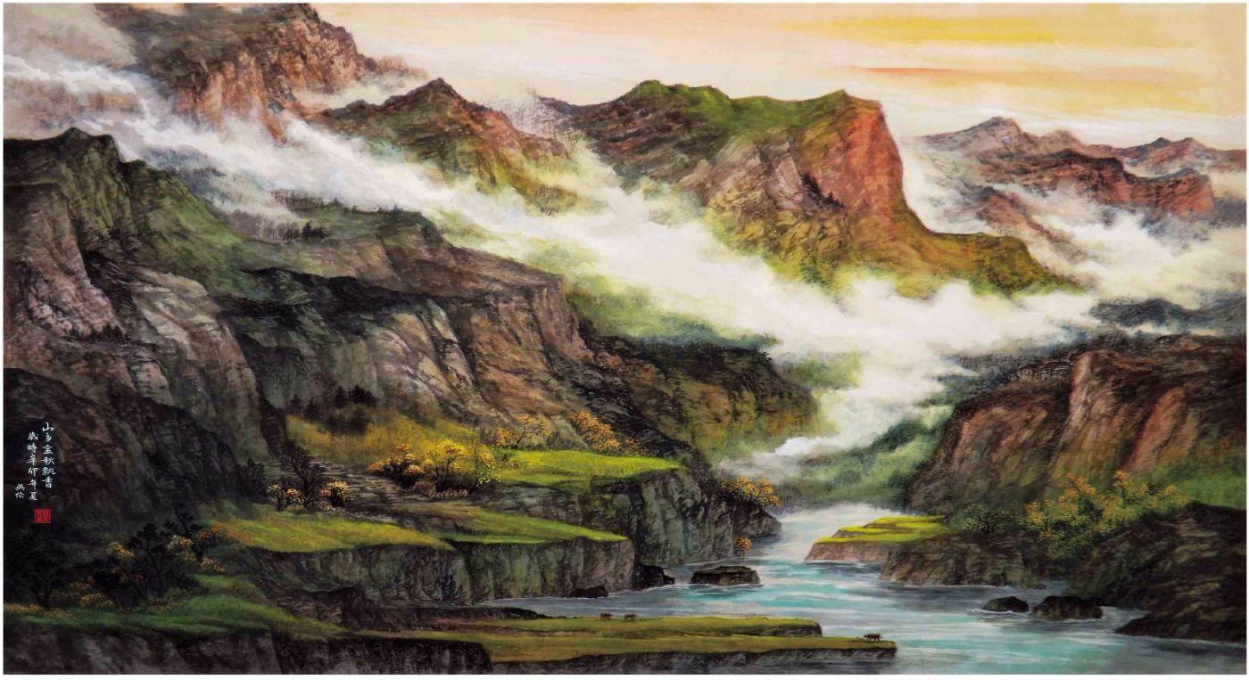 国际著名书画家叶英伦_图1-110