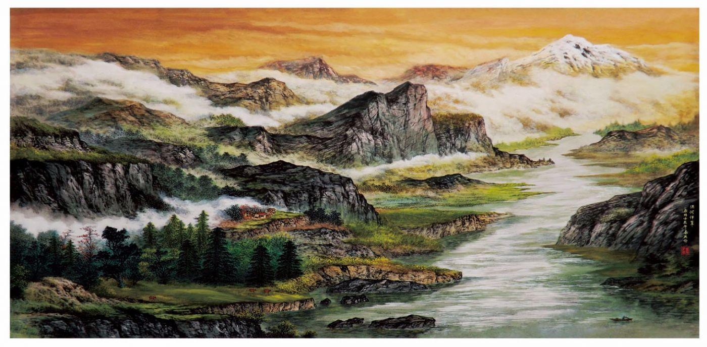 国际著名书画家叶英伦_图1-111