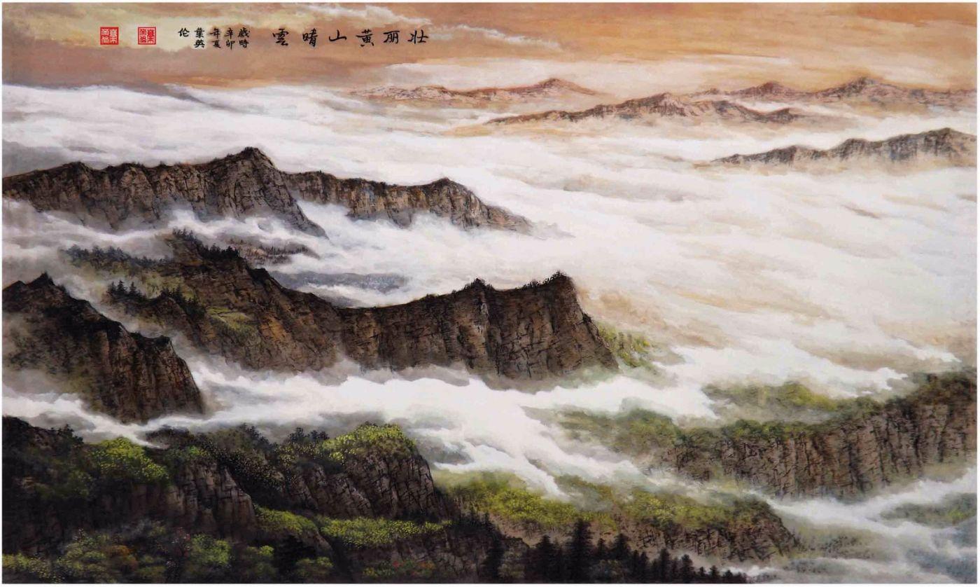 国际著名书画家叶英伦_图1-112