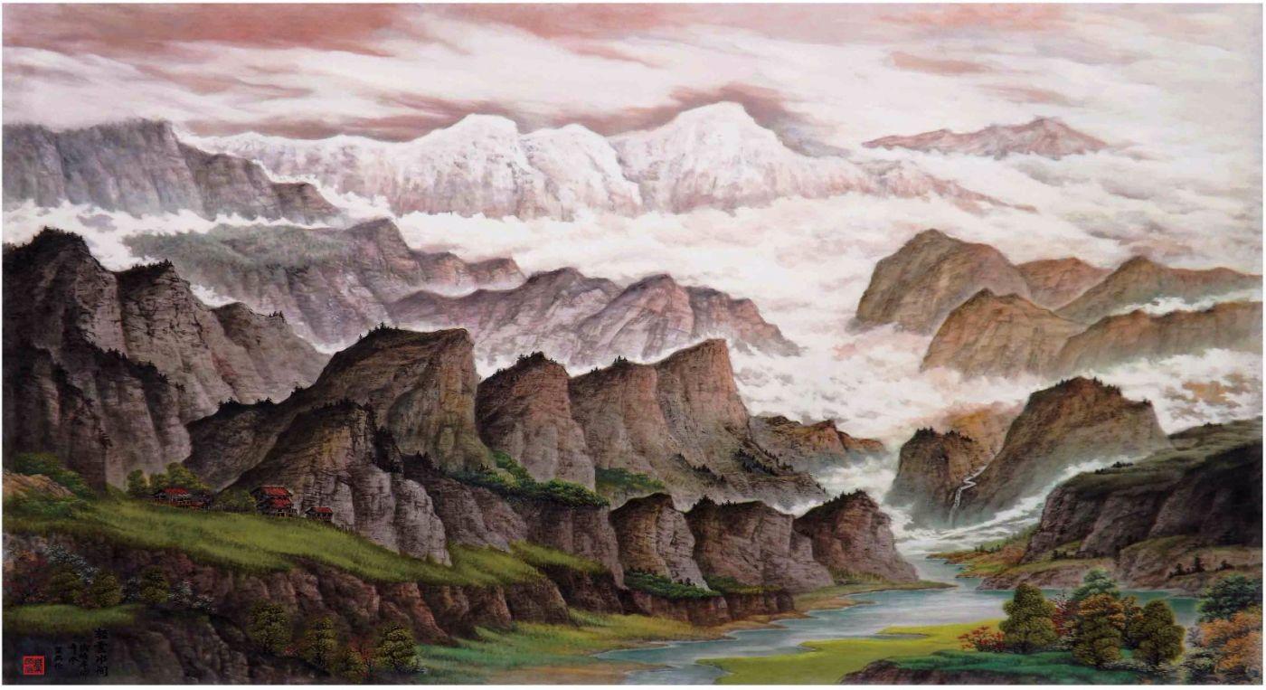 国际著名书画家叶英伦_图1-113