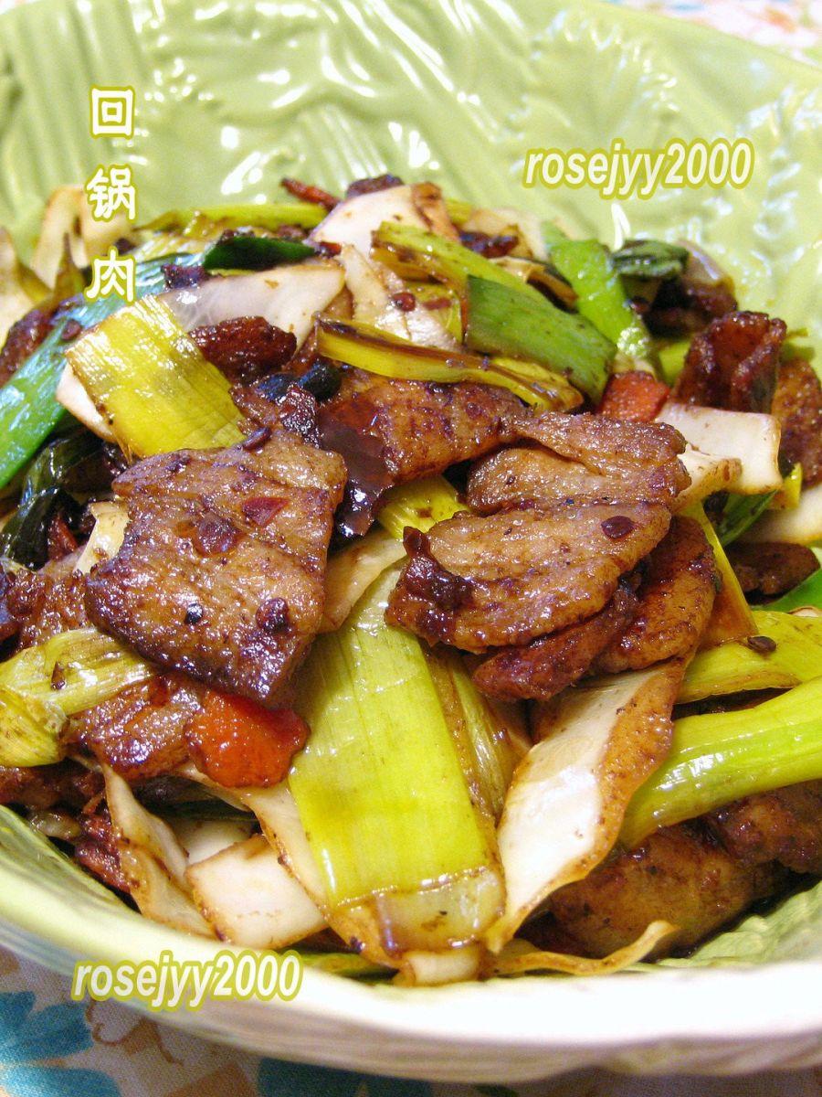 大蒜包菜回锅肉_图1-3