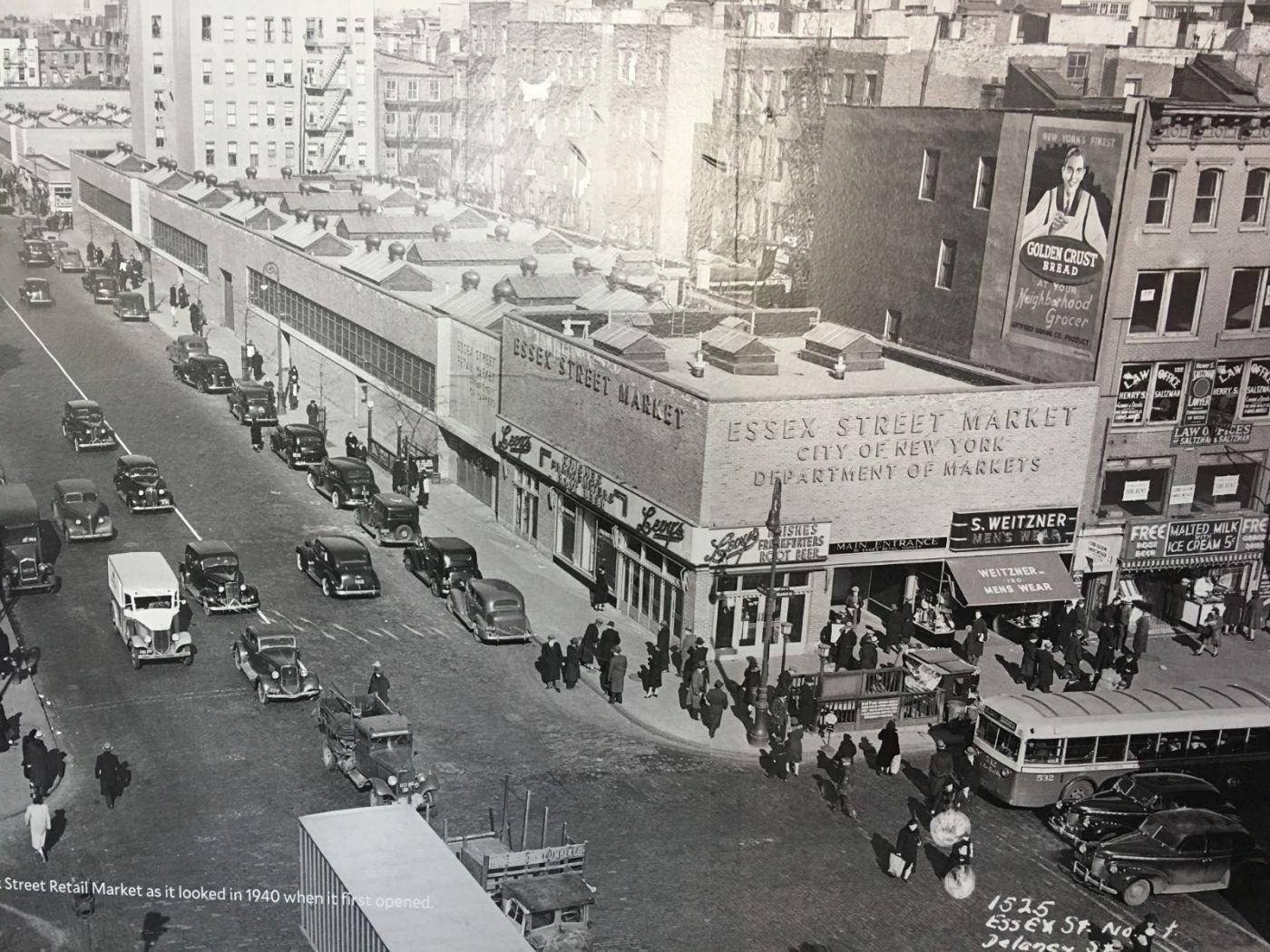 纽约曼哈顿下东城艾塞克斯街市场开张_图1-3