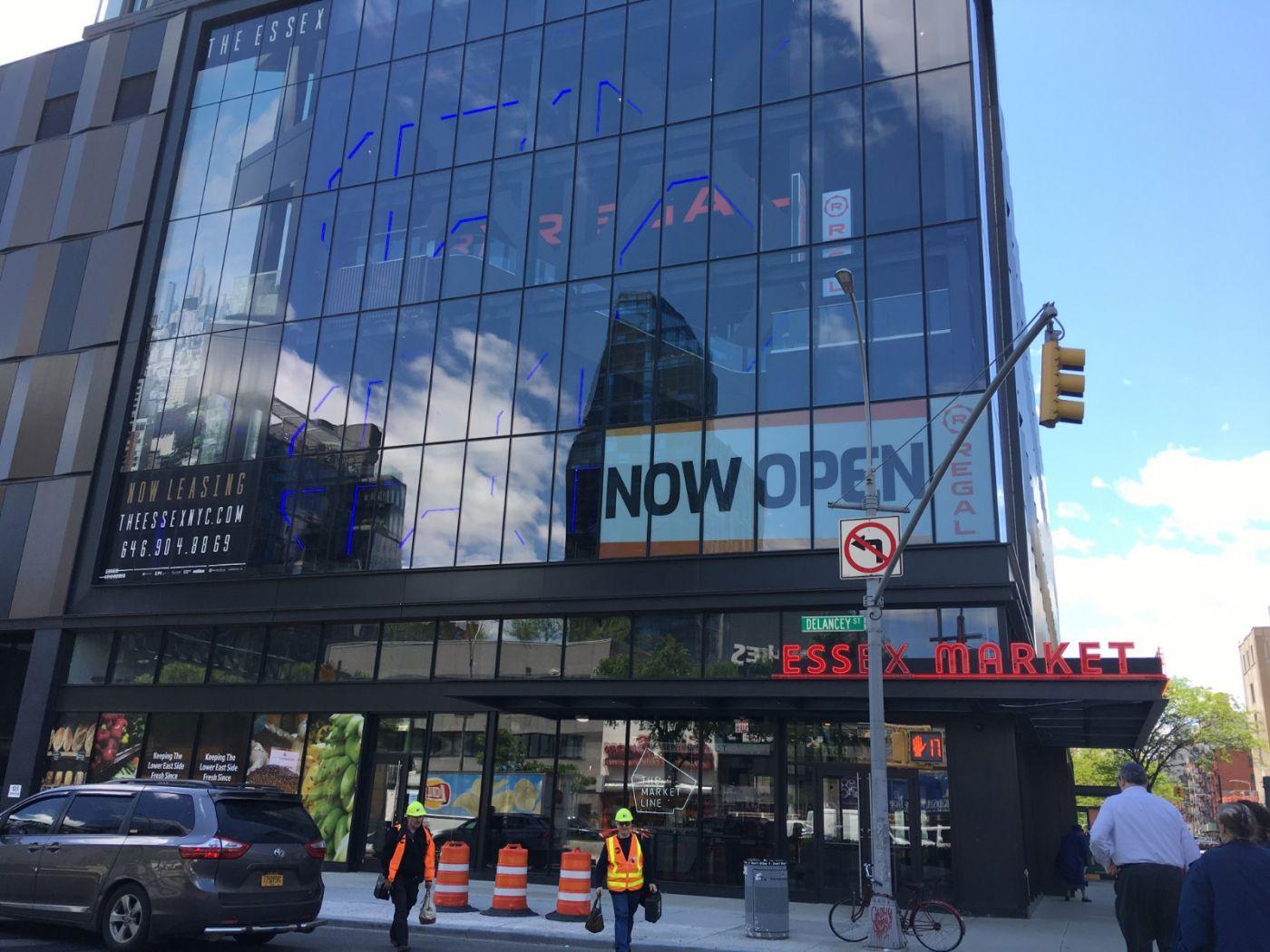 纽约曼哈顿下东城艾塞克斯街市场开张_图1-5
