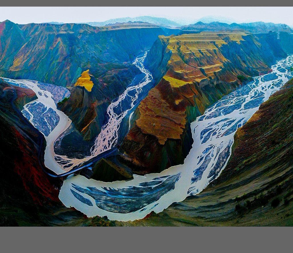 中国新疆天山山脉奇丽风光_图1-3