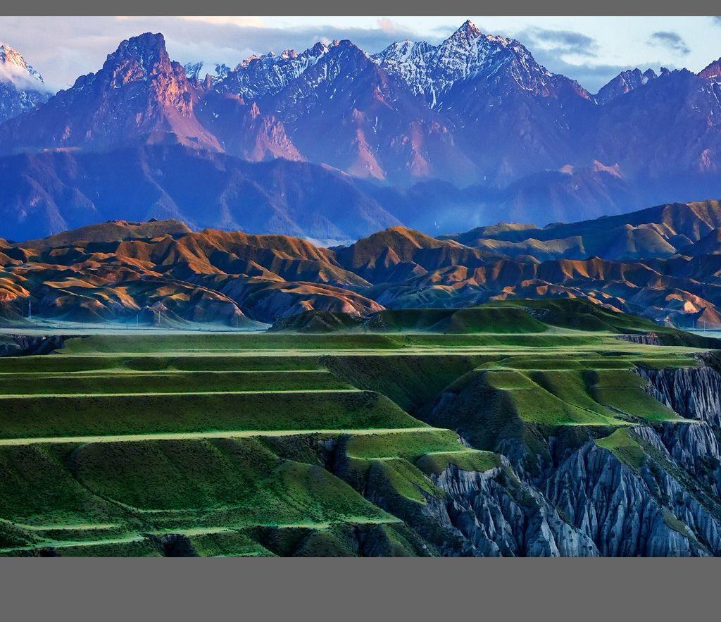 中国新疆天山山脉奇丽风光_图1-14