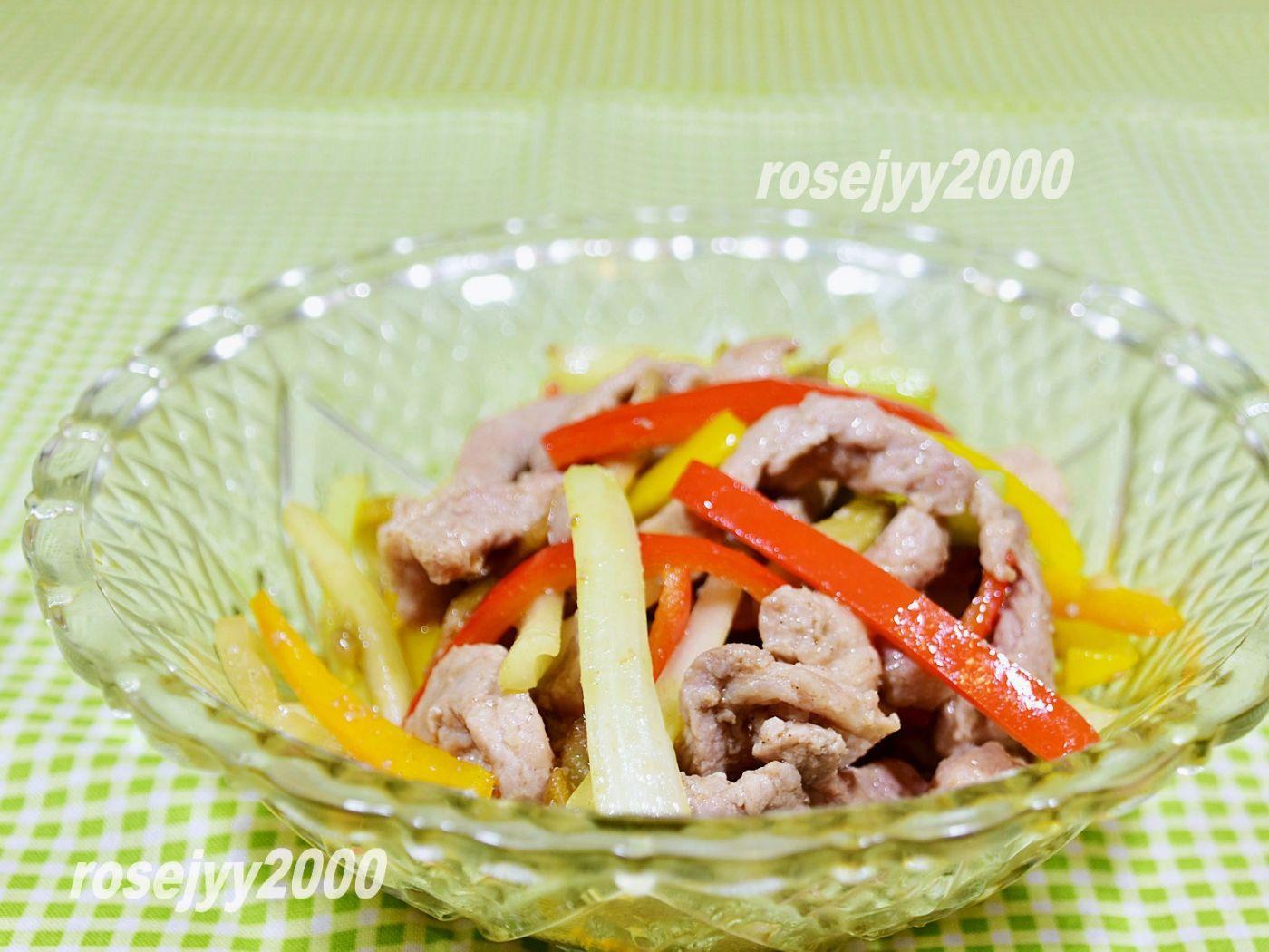 西芹榨菜炒肉丝_图1-1