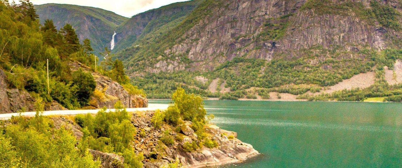 北欧风光,宁静的峡谷_图1-20