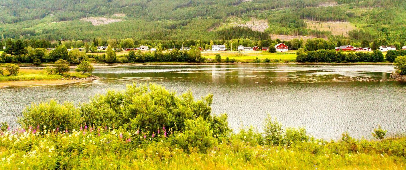 北欧风光,宁静的峡谷_图1-9
