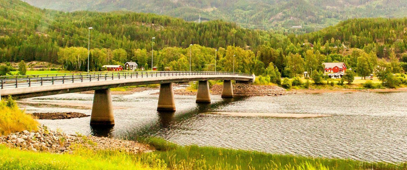 北欧风光,宁静的峡谷_图1-11