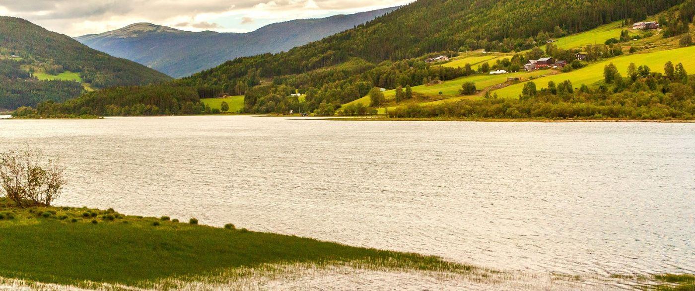 北欧风光,宁静的峡谷_图1-3