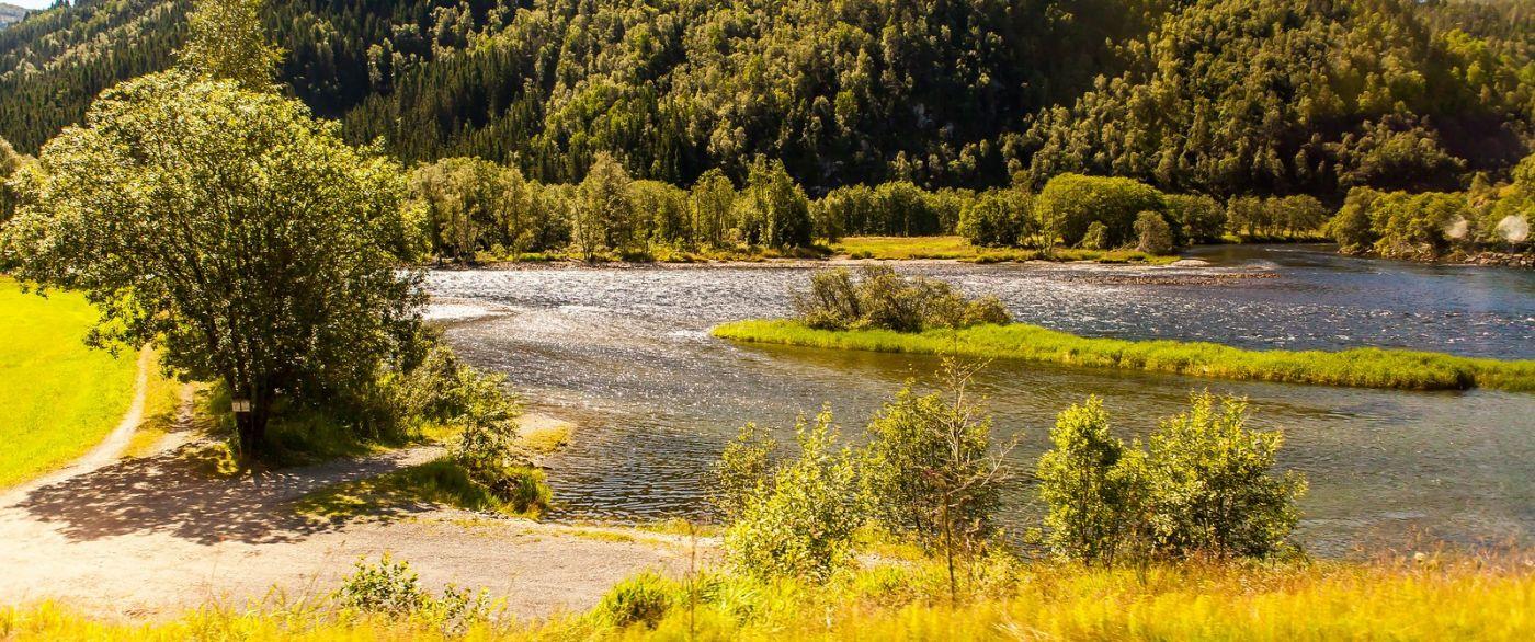 北欧风光,宁静的峡谷_图1-22