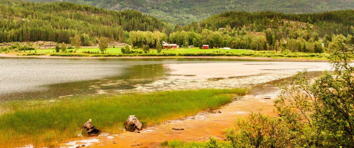 北欧风光,宁静的峡谷_图1-25