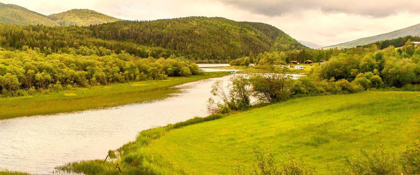 北欧风光,宁静的峡谷_图1-32