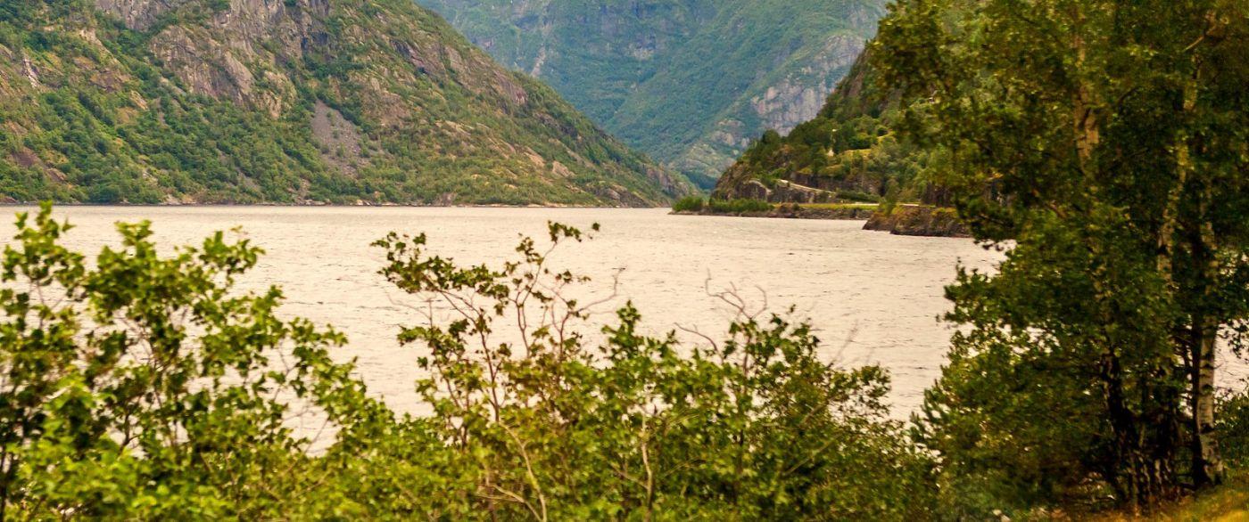 北欧风光,宁静的峡谷_图1-33