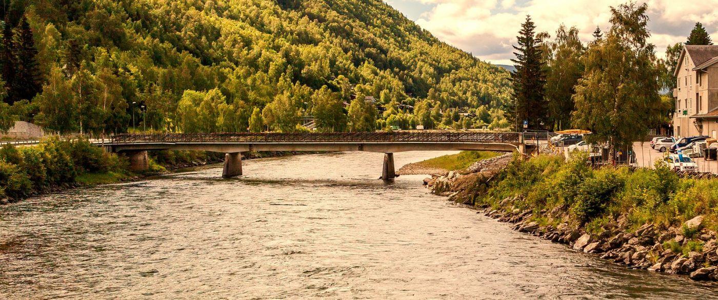 北欧风光,宁静的峡谷_图1-37