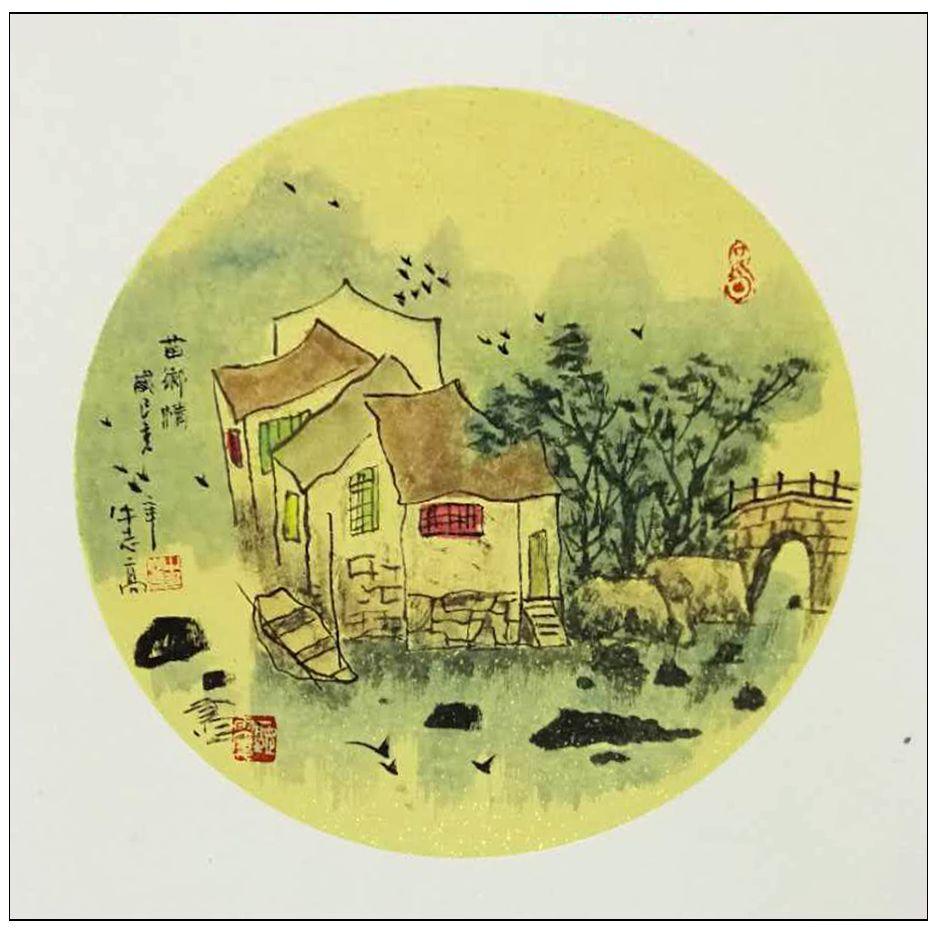 牛志高画湖南湘西风光---- 2019.5.22_图1-6