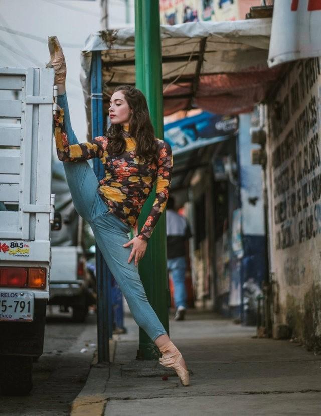 墨西哥芭蕾舞演员街上表演者_图1-7