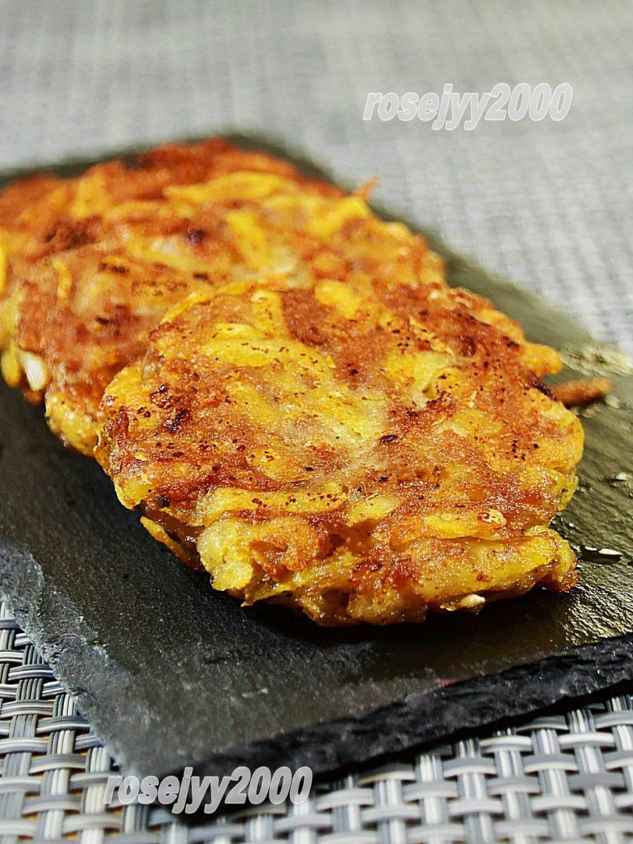 肉末土豆饼_图1-3