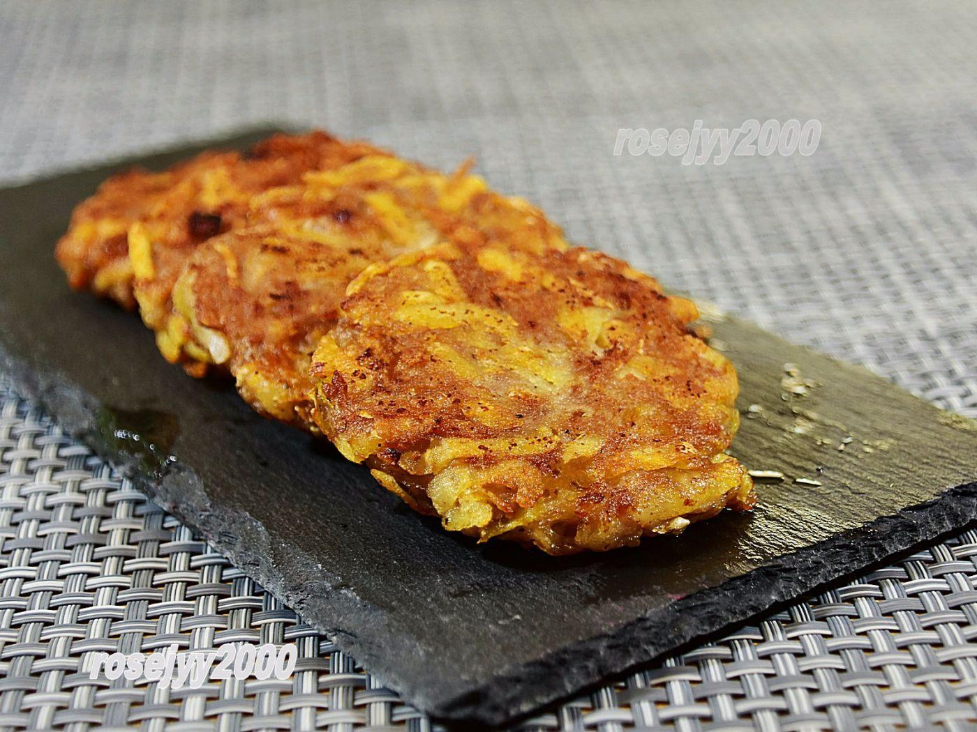 肉末土豆饼_图1-4