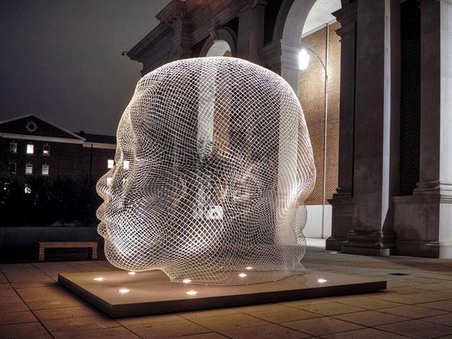 世界各地的公共人头,人体雕塑_图1-8