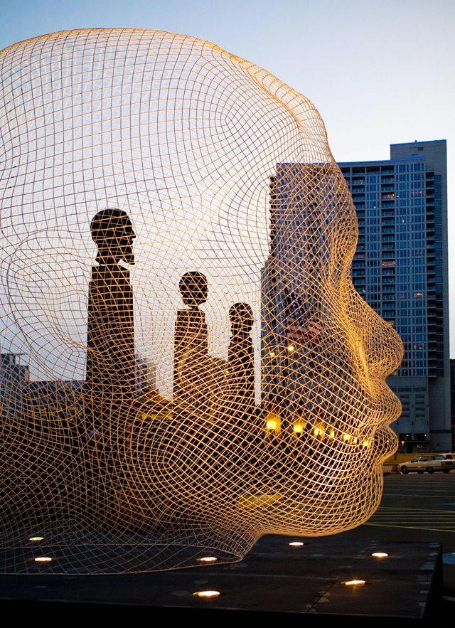 世界各地的公共人头,人体雕塑_图1-9