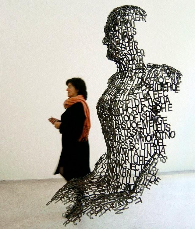世界各地的公共人头,人体雕塑_图1-22
