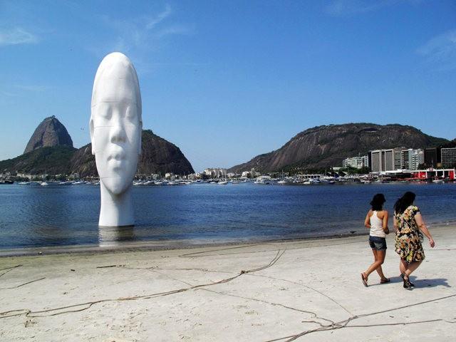 世界各地的公共人头,人体雕塑_图1-24