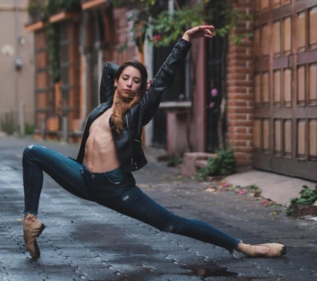 墨西哥的芭蕾舞演员街上表演者---2_图1-3