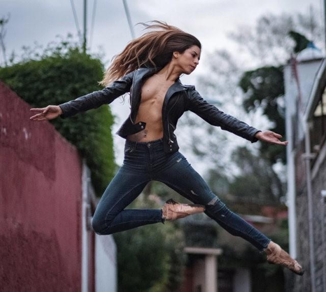 墨西哥的芭蕾舞演员街上表演者---2_图1-4