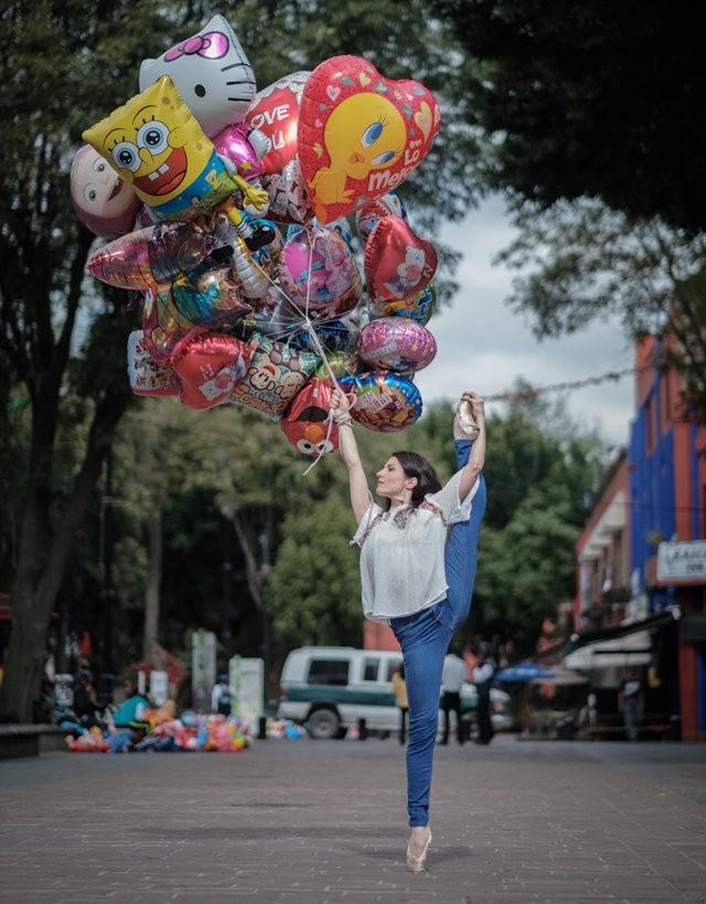 墨西哥的芭蕾舞演员街上表演者---2_图1-5