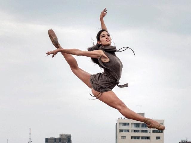 墨西哥的芭蕾舞演员街上表演者---2_图1-7