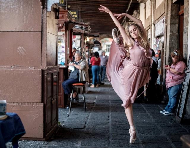 墨西哥的芭蕾舞演员街上表演者---2_图1-8